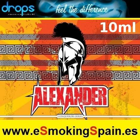 Eliquid Drops Conquerors Alexander 10ml