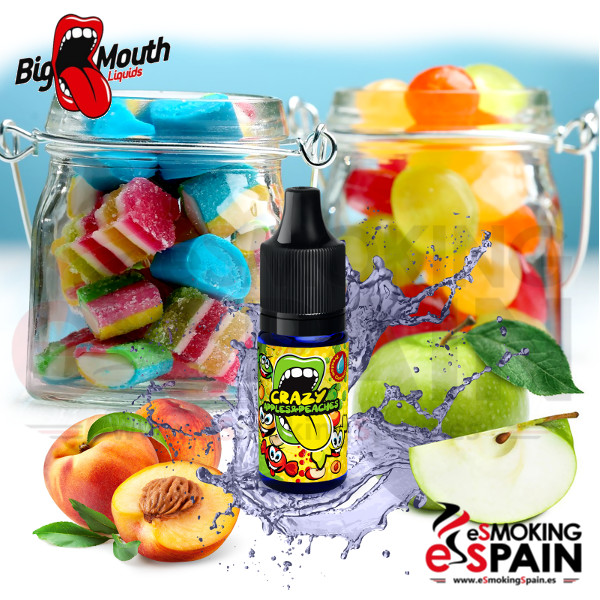 Aroma Big Mouth (Classic) Cracy Apples And Peaches 10ml