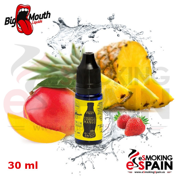 Aroma Big Mouth (Fizzy) PINEAPPLE STRAWBERRY MANGO 30ml