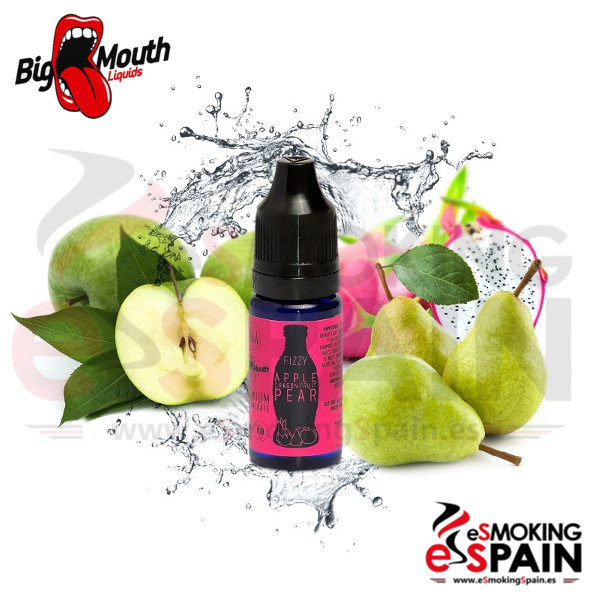 Aroma Big Mouth (Fizzy) APPLE DRAGONFRUIT PEAR 10ml