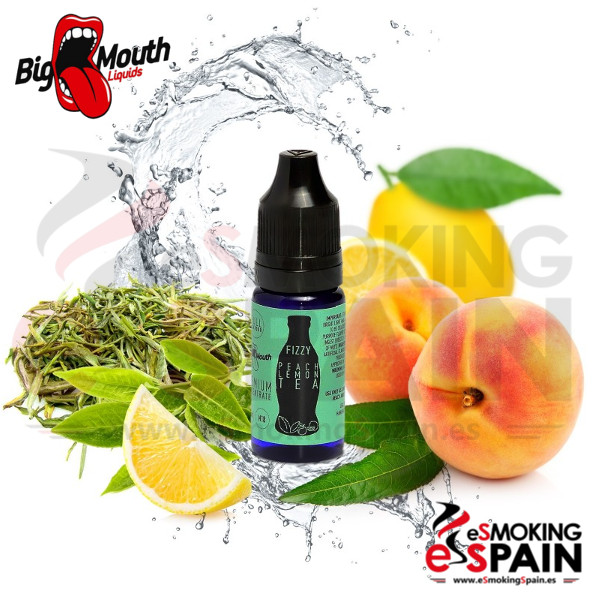 Aroma Big Mouth (Fizzy) PEACH LEMON TEA 10ml