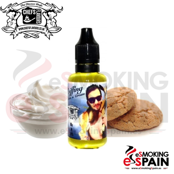Aroma Chefs Flavours Chris Spiffing Cookies N Cream 30ml (CV6)