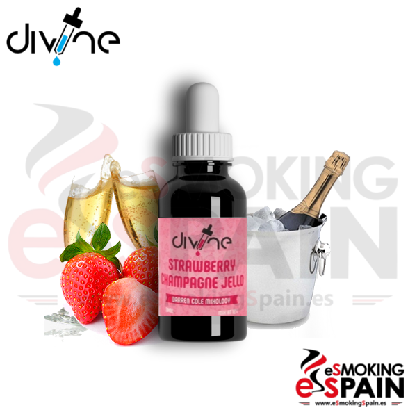 Aroma Divine Strawberry Champagne Jello 30ml