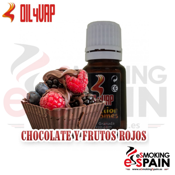 Aroma Oil4Vap Chocolate Con Frutos Rojos 10ml (nº21)