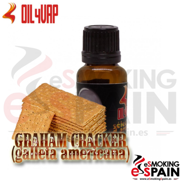 Aroma Oil4Vap Graham Cracker 10ml (nº33)