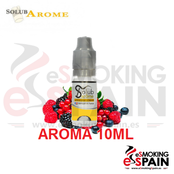 Aroma SolubArome 10ml Fruits Rouges Sauvages (nº101)