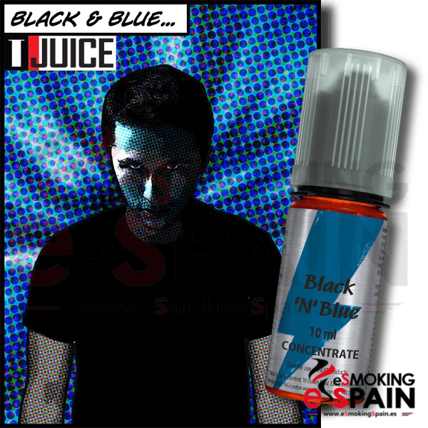 Flavor T-Juice 10ml Black n Blue (nº38)