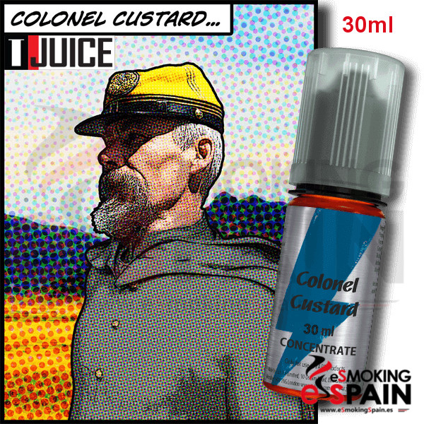 Flavor T-Juice Colonel Custard (nº3)