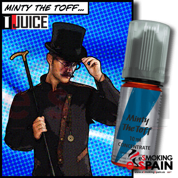 Aroma T-Juice 10ml Minty The Toff (nº26)