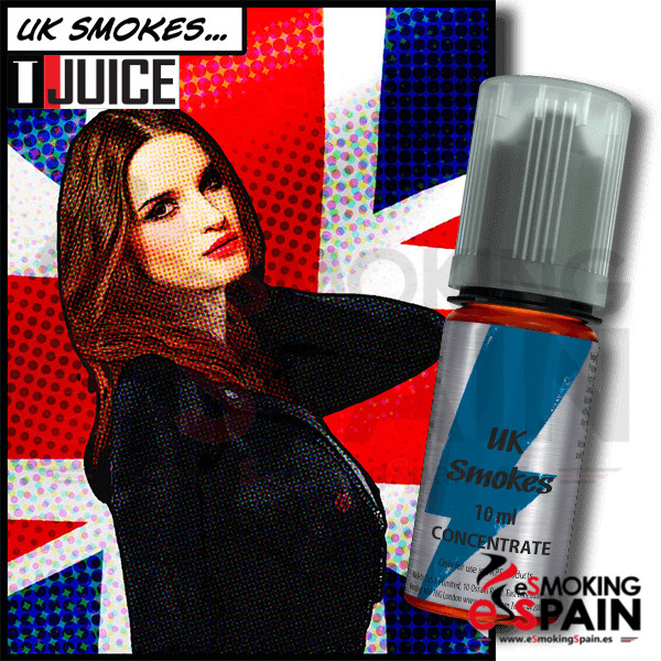 Aroma T-Juice 10ml Uk Smokes (nº30)