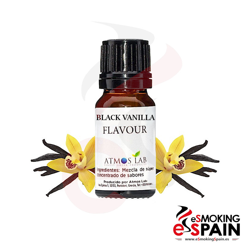 ATMOS LAB Black Vanilla flavour 10ml (nº82)