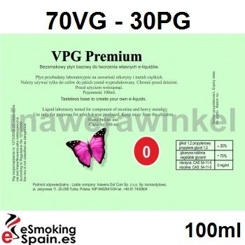 Inawera VPG Premium Baza 0mg /100ml