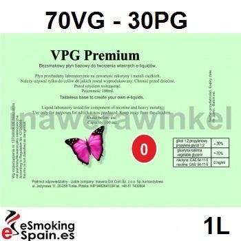 Inawera VPG Premium Baza 0mg /1L