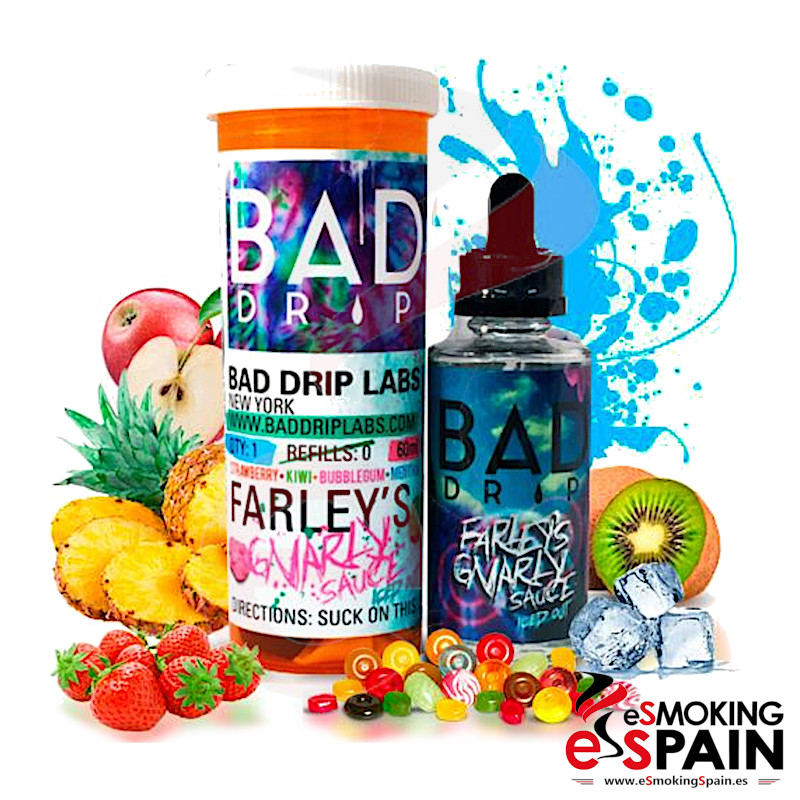 Bad Drip Labs Farley´s Gnarly Sauce Iced Out 50ml 0mg