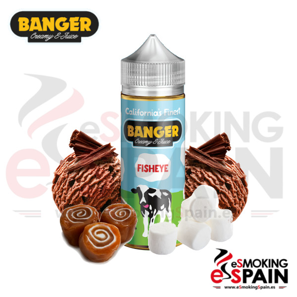 Banger Creamy eliquid Fisheye 100ml 0mg