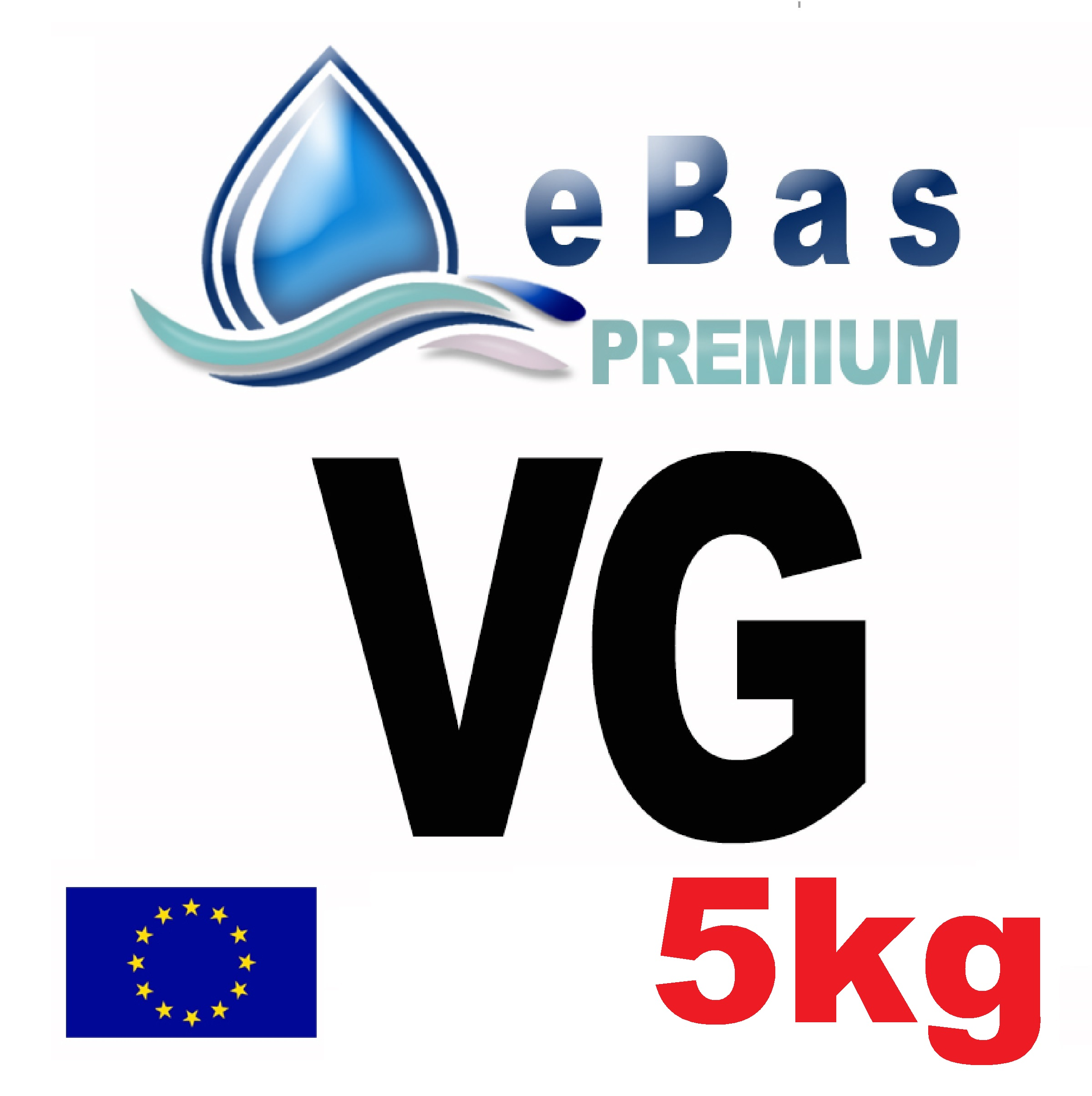 eBas Premium (VG) 5kg Vegetable Glycerine