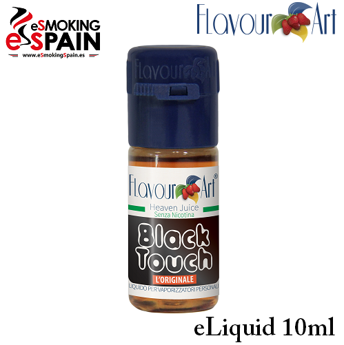 Eliquid FlavourArt BLACK TOUCH 10ml (nºL5)
