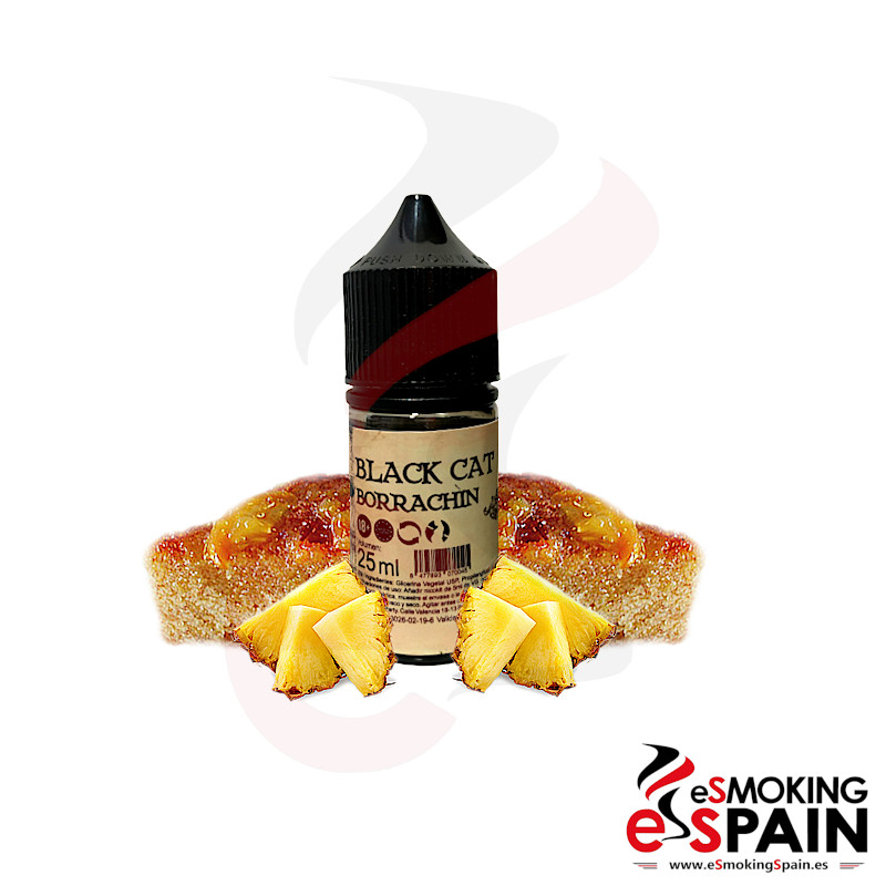 Black Cat E-liquids Borrachin 25ml 0mg