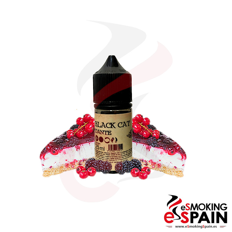 Black Cat E-liquids Dante 25ml 0mg