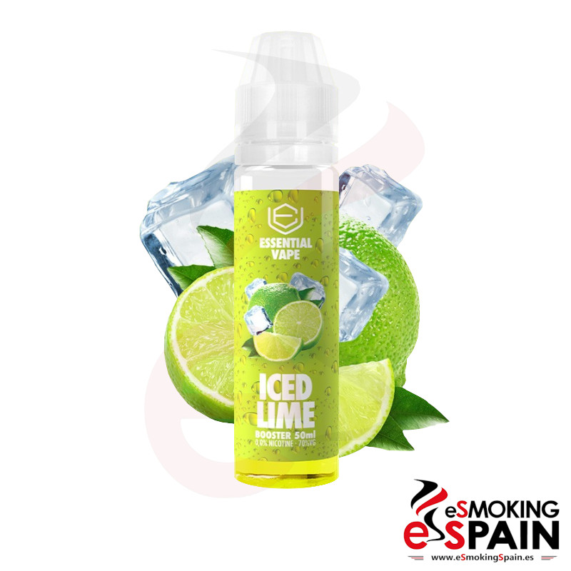 Bombo Essential Vape Iced Lime 50ml 0mg
