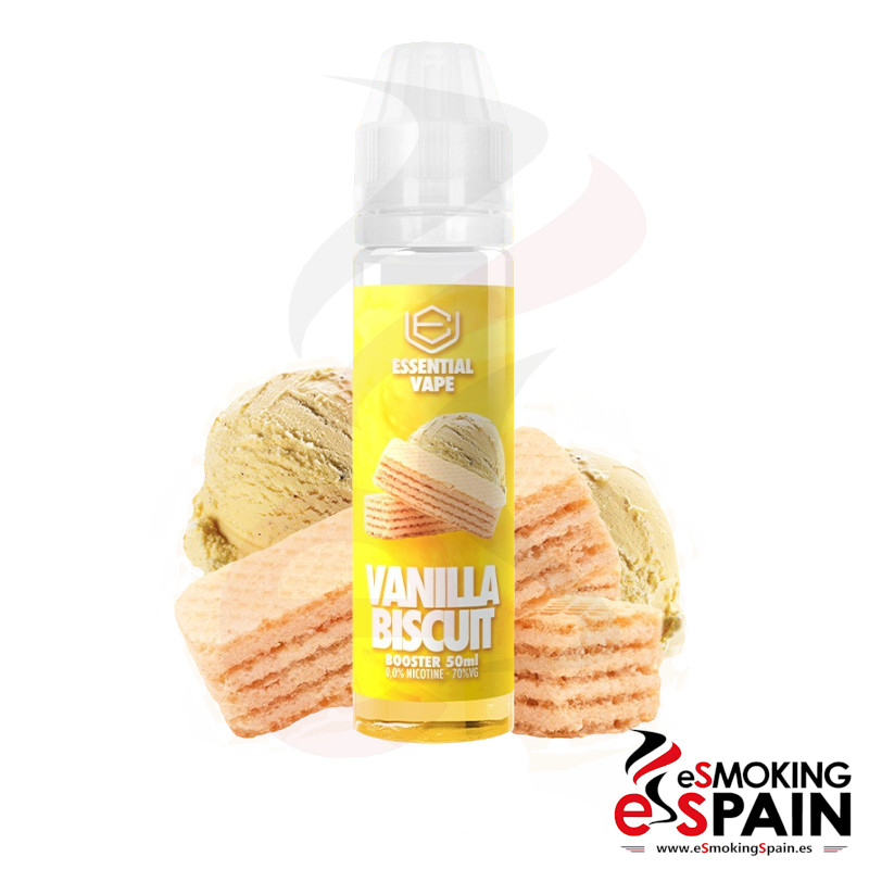 Bombo Essential Vape Vanilla Biscuit 50ml 0mg