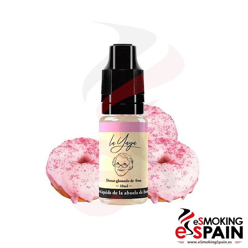 Bombo Eliquids La Yaya Donut Glaseado De Fresa 10ml