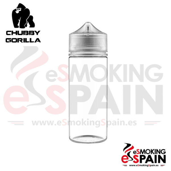 Botella Chubby Gorilla White 120ml