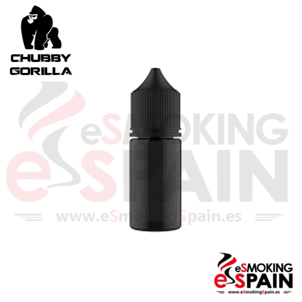 Botella Chubby Gorilla Black 30ml