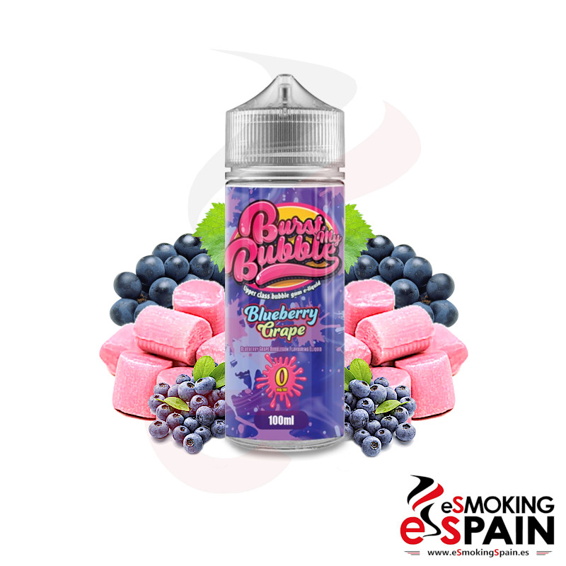 Burst My Bubble Blueberry Grape 100ml 0mg