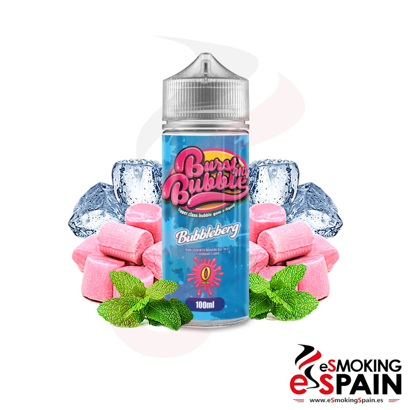 Burst My Bubble Bubbleberg 100ml 0mg