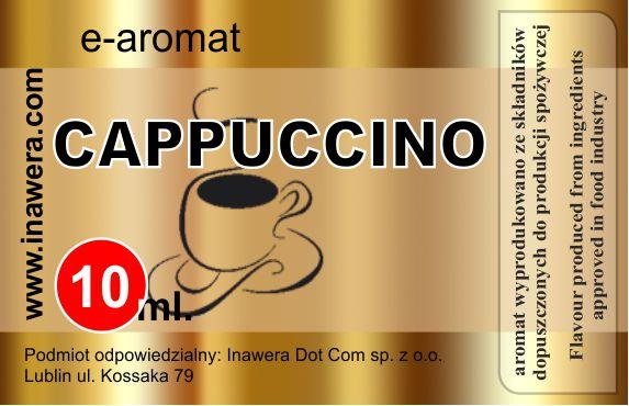 Inawera e-aroma tobacco Cappuccino 10 ml (nº54)