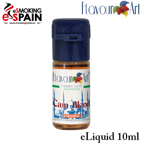 Eliquid FlavourArt CAM BLEND 10ml (nºL8)