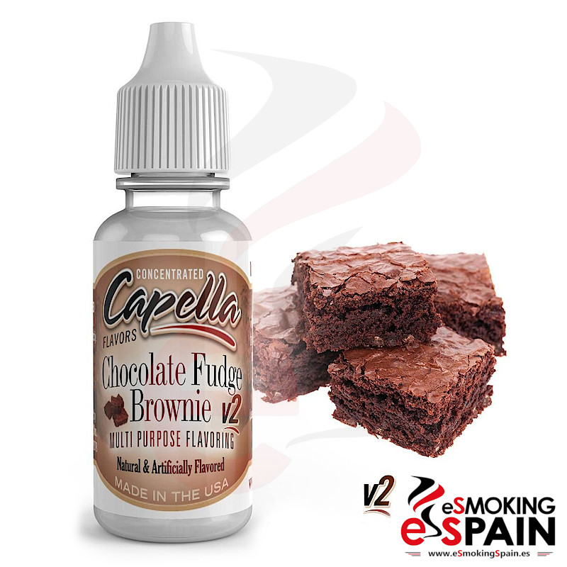 Aroma Capella Chocolate Fudge Brownie V2 13ml (*nº95)