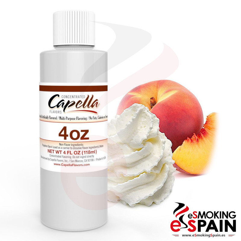 Aroma Capella Peaches And Cream 118ml (*nº11)