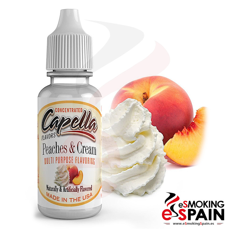 Aroma Capella Peaches And Cream 13ml (*nº11)