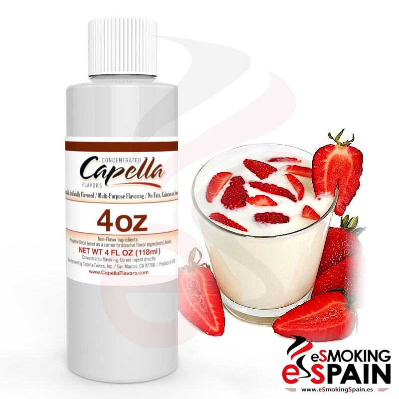Aroma Capella Strawberries And Cream 118ml (*nº80)