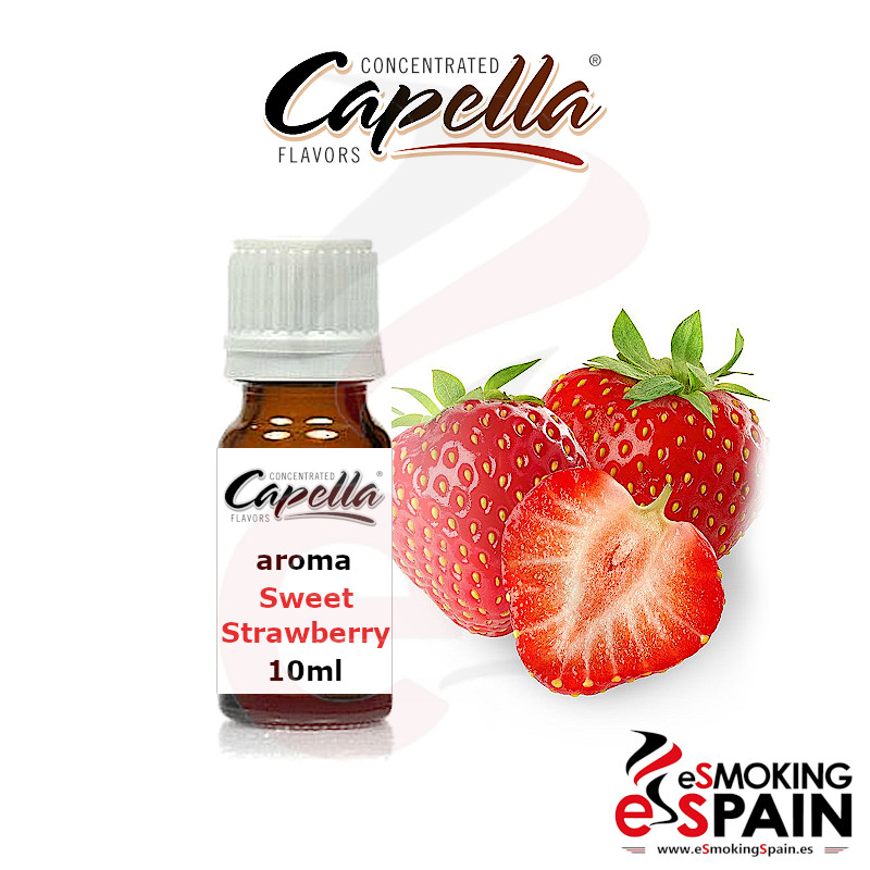 Aroma Capella Sweet Strawberry 10ml (nº134)