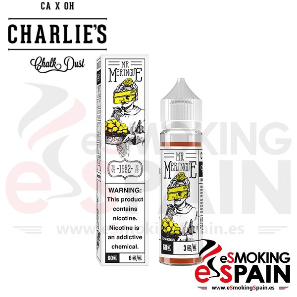 Liquido Charlie's Chalk Dust Mr Meringue 50ml
