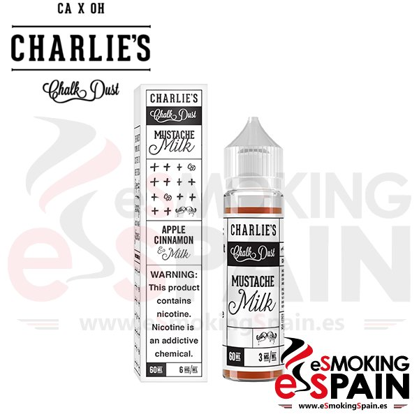 Liquido Charlie's Chalk Dust Mustache Milk 50ml