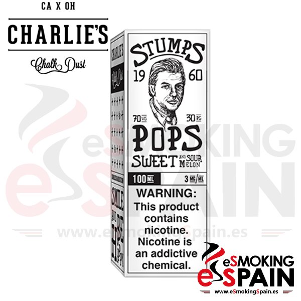 Liquido Charlie's Chalk Dust Pops 50ml