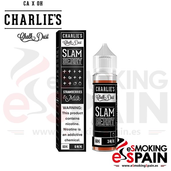 Liquido Charlie's Chalk Dust Slamberry 50ml