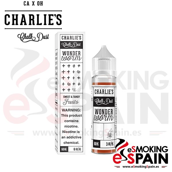 Liquido Charlie's Chalk Dust Wonder Worm 50ml