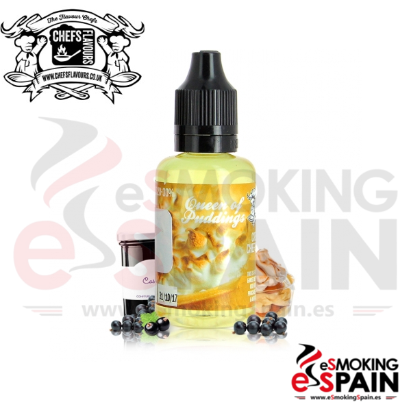 Aroma Chefs Flavours Queen Of Pudding 30ml (CV26)