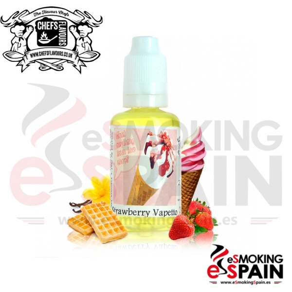 Aroma Chefs Flavours Strawberry Vapetto 30ml (CV32)