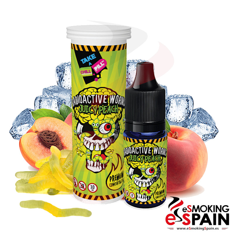 Chill Pill Radioactive Worms Juicy Peach Fresh Edition 10ml