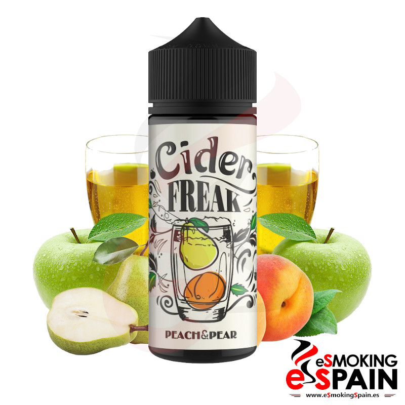 Cider Freak Pear Peach 100ml 0mg