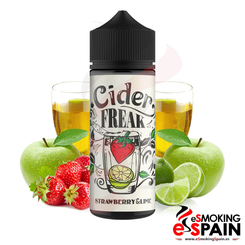 Cider Freak Strawberry Lime 100ml 0mg