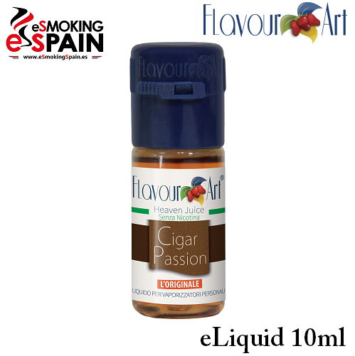Eliquid FlavourArt CIGAR PASSION 10ml (nºL11)