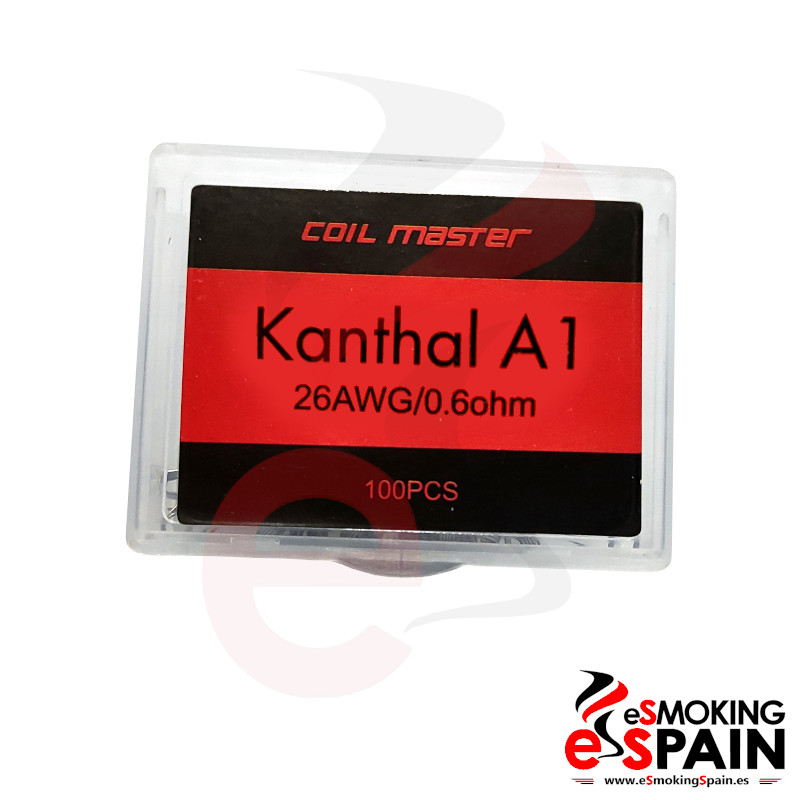 Coil Master Kanthal A1 26AWG Pack 100ud