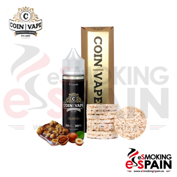 Coin Vape Burns 50ml 0mg